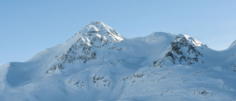 Alpine Alpen Berge Landschaft entlang der Bernina Express