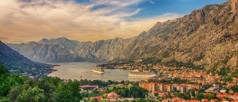 Montenegro Bucht von Kotor