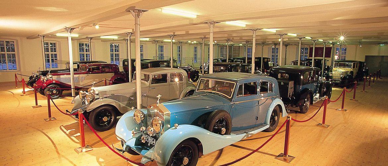 Rolls royce museum bild rolls royce museum